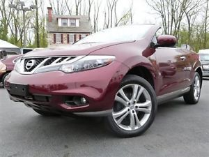 2012 Nissan Murano Crosscabriolet AWD Convertible Navigation