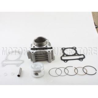 80cc Big Bore Kit Cylinder Body Piston Rings Set 50cc Scooter Moped Parts
