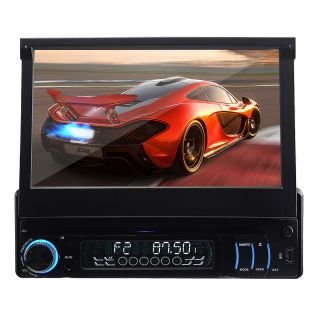 Detechable Panel 1 DIN in Deck Car DVD Player Radio Audio Stereo Touch iPod