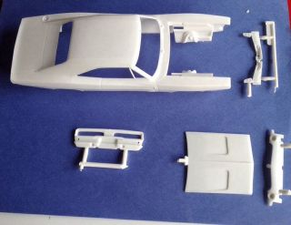 1969 Dodge Charger Body Parts Lot Revell Kit 2546