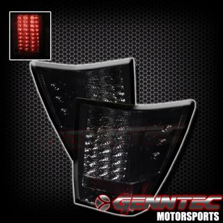 05 08 Jeep Grand Cherokee LED Tail Lights Smoked 06 07