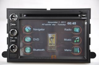 2009 08 07 Ford Shelby GT500 DVD GPS Navigation Radio Double DIN in Dash Stereo