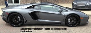 Factory Lamborghini Aventador Roadster Dione LP700 4 Wheels Tires Rims Caps TPMS
