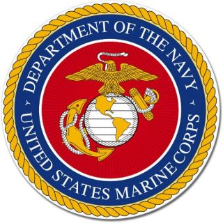 US Navy Marine Corps Seal Wall Window Car Vinyl Sticker Decal Mural Pick Size