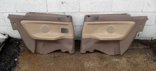 BMW E36 Convertible Rear Interior Trim Panel Set Beige 94 99 318IC 325IC 328IC