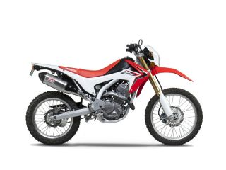 13 Honda CRF250L Yoshimura RS 4 Full Exhaust System Stainless Steel