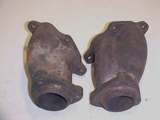 Maserati Biturbo Turbo Exhaust Header Manifold Waste Gate Collector Pair