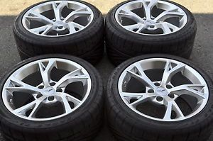 Corvette GCA Torque 2 Wheels Rims Tires Factory Wheels Grand Sport Z06