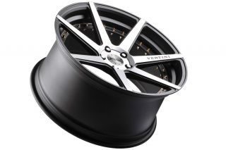 "20"" Vertini Dynasty Machined Concave Rims Wheels Fits Infiniti G37 G37S Sedan"
