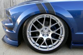 "20"" Ford Mustang Avant Garde M310 Concave Silver Staggered Wheels Rims"