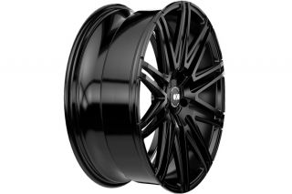 "20"" Honda Accord Coupe XO Milan Concave Matte Black Staggered Wheels Rims"