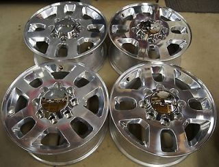 "Chevy Silverado HD 2500 3500 8 Lug 18"" Factory Wheels Rims Sierra 2011 14"