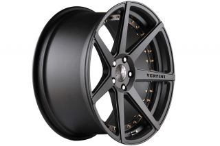 "20"" Vertini Dynasty Gunmetal Concave Wheels Rims Fits 2013 Lexus gs350 GS450 GS"