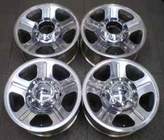 "3603 Ford Super Duty F250 F350 18"" Factory Alloy Wheels Rims 4"