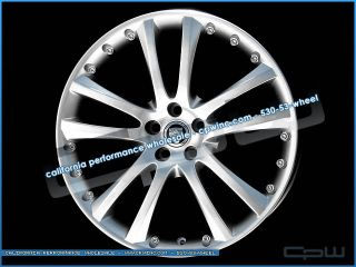 "20"" inch Jaguar XK XKR Wheels Rims Tires Package Deal Marcellino Senta II New"