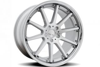 "20"" Infiniti M35 M45 Rennen C10 Silver Concave Staggered Wheels Rims"