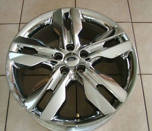 "2011 2013 Ford Edge 20"" Chrome Clad Wheel"