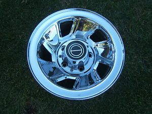 "Ford F150 Bronco 15"" Chrome Wheel Wheels Rim Rims 5 Lug 5 5"" 1996 Older"