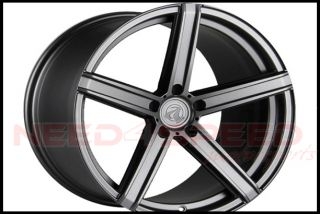 "20"" Axis Model One Matte Graphite Fits Audi A7 S7 20x10 5 Concave Wheels Rims"