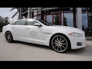 "22"" Jaguar Wheels Rim Tires XJL Supersport Supercharged"