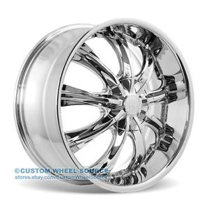 "18"" Redsport RSW33 Chrome Rims for Kia Lexus Lincoln Mazda Wheels"