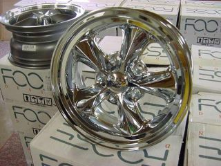 "FOOSE Nitrous RT 15""x 7 Ford Mopar Dodge Chrome Display Wheels Set of 4"