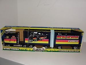 "Nylint ""Old Smokey"" Iron Horse Express Truck Duel Trailer RARE"