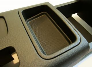 VW Volkswagen Jetta Golf A4 Rear Center Console New Black Original