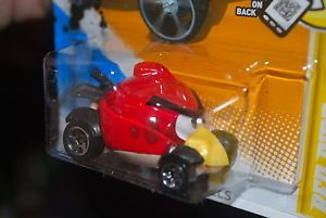 2012 Hot Wheels Angry Bird Car Red Very Hard to Find New Hot Wheels Car