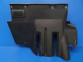 BMW E30 318i 318IS 325E 325i 325IX M3 Auto Under Dash Lower Trim Panel Black