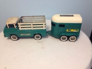 Nylint Truck and Horse Trailer
