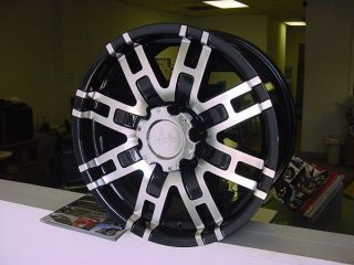 20x9 Helo 835 Black Wheels Chevy Ford Dodge 8 Lug 6 Lug