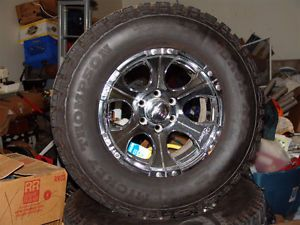 Mickey Thompson Baja ATZ Tires with Dick Cepek Pol DC 1 Wheels