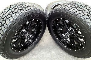 "20"" Black Wheels Tires Dodge Truck RAM 1500 20x9 Gloss Black 20 inch Rims"