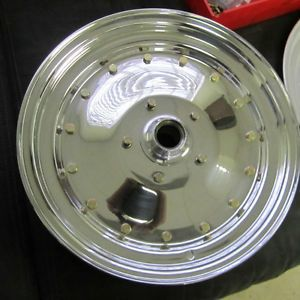 Cragar Super Trick Spindle Mount Funny Car Wheels Hemi Polished Nitro Blower