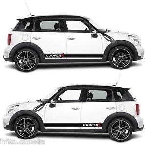 Mini Cooper s Countryman R60 Stripe Kit Sticker Racing Drift Rally BMW Race P1
