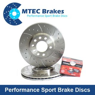 Mini Cooper 1 6 s Works JCW 105 Front Brake Discs Pads