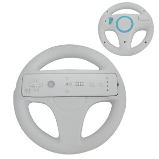 Steering Wheel Nintendo Wii Mario Kart Racing Game Remote Controller US Shipping