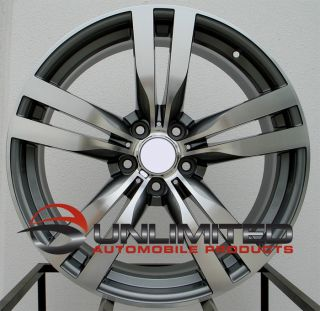 20 M STYLE GUNMETAL MACHINED FACE Wheels Rims Fit BMW X6 xDrive35i xDrive50i