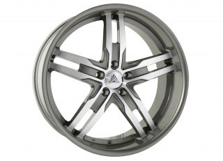"21"" Auto Couture Staggered Wheels Rims Lexus LS460 600"