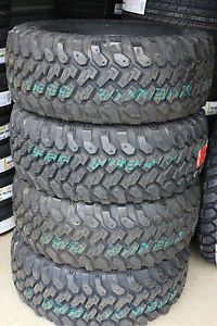"4 New Lt 33 12 50 17 Pro Comp MT Mud Terrain Tires Made in USA 1250 33"" Jeep"
