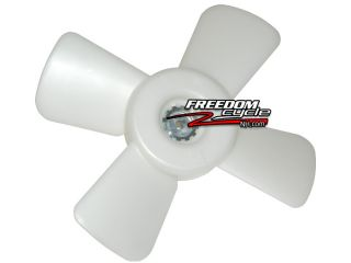 New 2005 2011 Kawasaki Brute Force KVF 750 4X4I Cooling Radiator Coolant Fan