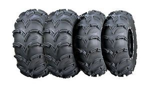 "26"" ITP Mud Lite XL ATV UTV Tires Complete Set of 4 26x9x12 26x10x12"