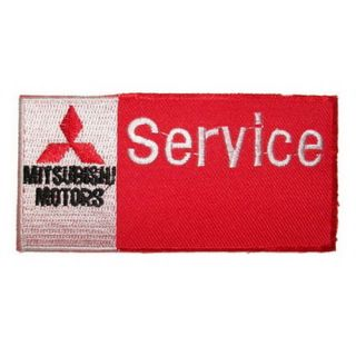 SK A147 Mitsubishi Iron on Patch Embroidered T Shirt Accessories Car Motorcycle