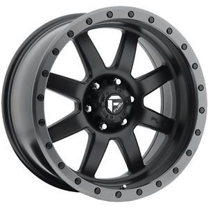 20x9 Black Fuel Trophy 5x5 12 Wheels Nitto Mud Grappler 33x12 50R20LT Tires