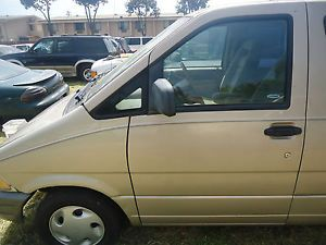 Driver Front Door with Glass Handle 95 96 97 Ford Aerostar XLT Van