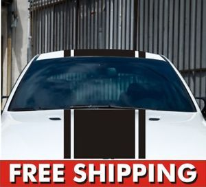 Racing Stripes Vinyl Decal Car Truck Rally Tuner Import