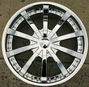 Starr 526 22 x 9 5 Chrome Rims Wheels Lexus RX350 RX330 RX300 5H 15