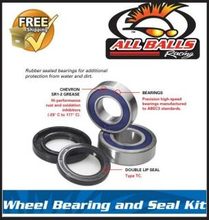 All Balls Arctic Cat 300 4x4 Rear Wheel Bearings 98 04
