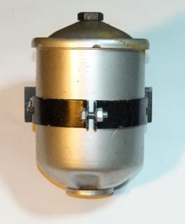 1949 Plymouth Bypass Oil Filter Canister with Mounting Bracket
